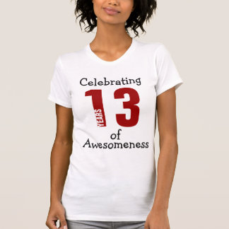 Celebrating 13 years of Awesomeness T-Shirt