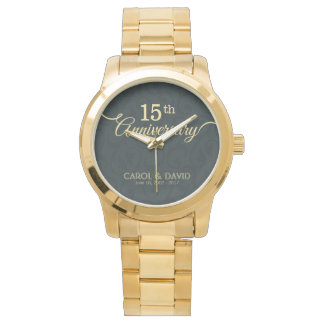 Celebrating 15th Anniversary. Customizable. Watch