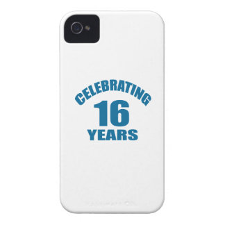 Celebrating 16 Years Birthday Designs iPhone 4 Cover