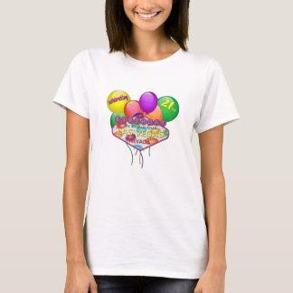 celebrating 21st BIRTHDAY In Las Vegas T-Shirt
