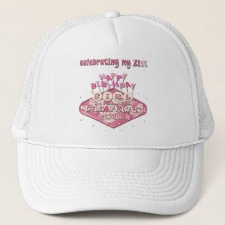celebrating 21st Las Vegas BIRTHDAY GIRL Hat
