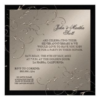 Celebrating 25 years 25th Anniversary Invitation
