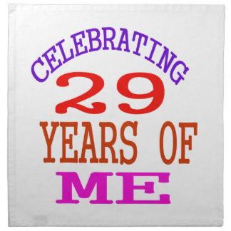 Celebrating 29 Years Of Me Cloth Napkin