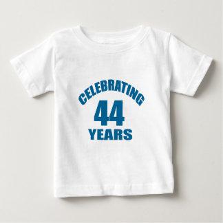 Celebrating 44 Years Birthday Designs Baby T-Shirt