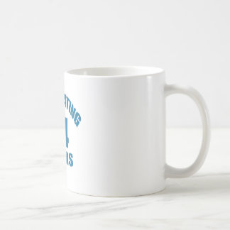 Celebrating 44 Years Birthday Designs Coffee Mug