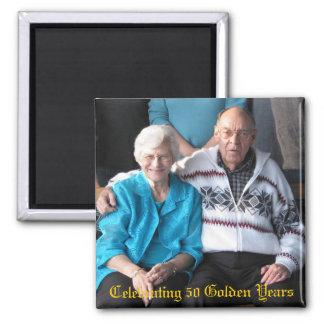 Celebrating 50 Golden Years Magnets