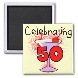 Celebrating 50 Tshirts and Gifts Magnet
