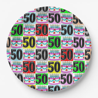 CELEBRATING 50 YEARS OLD PAPER PLATE