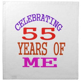 Celebrating 55 Years Of Me Napkins