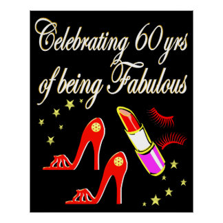 CELEBRATING 60 YEARS OF FABULOUS POSTER