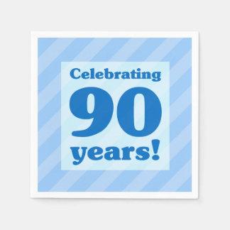Celebrating 90 Years Disposable Napkins