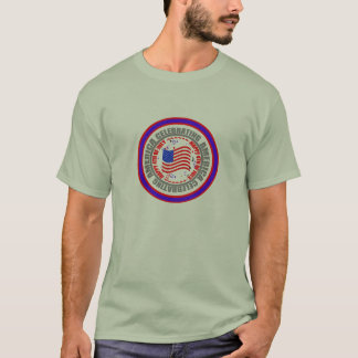 Celebrating America Happy 4th of July T-Shirt