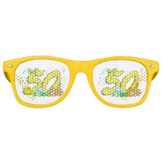 celebrating birthday  50th party sunglasses