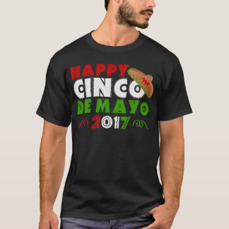 Celebrating Cinco de Mayo Sombrero T-Shirt