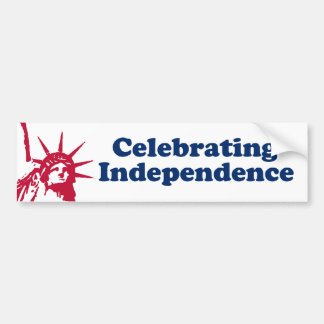Celebrating Independence Bumper Sticker