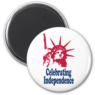 Celebrating Independence Fridge Magnets