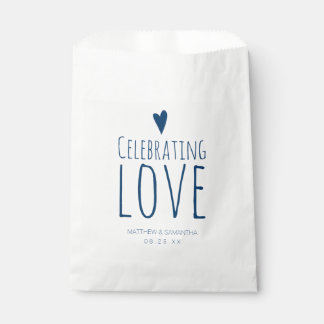 Celebrating Love Wedding Candy Bar Buffet Favour Bag