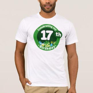 Celebrating My 17th Birthday T-Shirt