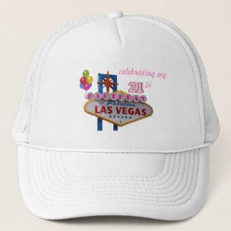 celebrating my 21st Birthday In Fabulous Las Vegas Trucker Hat