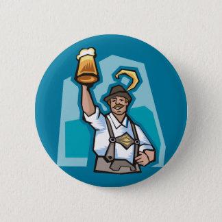 Celebrating Oktoberfest 2 Inch Round Button