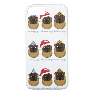 Celebrating Puggo Design iPhone 8/7 Case