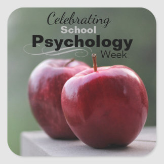 Celebrating School Psychology Week Stickers