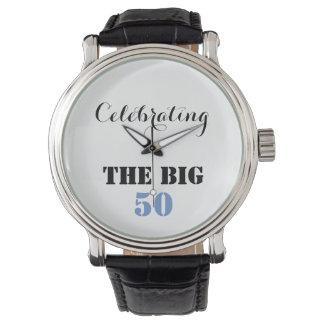 Celebrating THE BIG 50 - Wristwatch