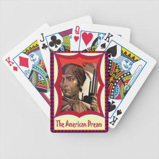 Celebrating the first nation bicycle playing cards