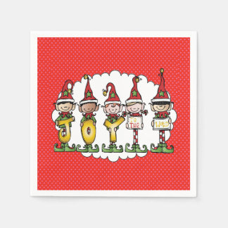 Celebrating With Joy Christmas Party Napkins Disposable Napkin