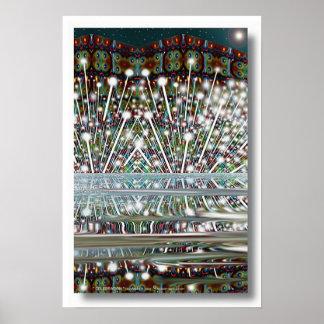""" CELEBRATION "" by: Robert Singletary Poster"