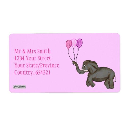 Celebration Elephant (Pink)