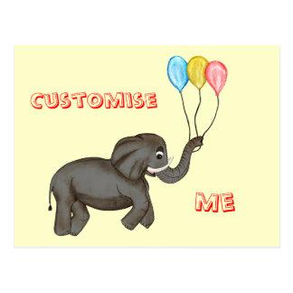Celebration Elephant. Postcard
