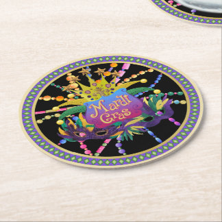 Celebration Extraordinaire Round Paper Coaster