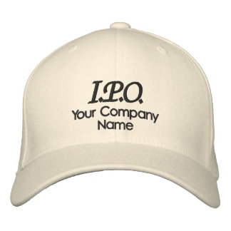 Celebration I.P.O. Embroidered Hat