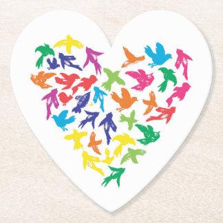 Celebration in Flight - Heart Coaster