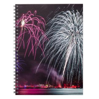 Celebration of Independence Spiral Notebook