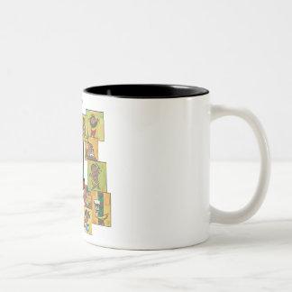 Celebration of Kwanzaa Two-Tone Coffee Mug