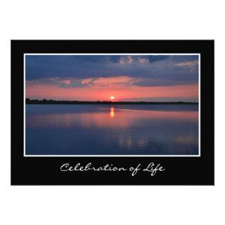 Celebration of Life Invitation Custom Invitations