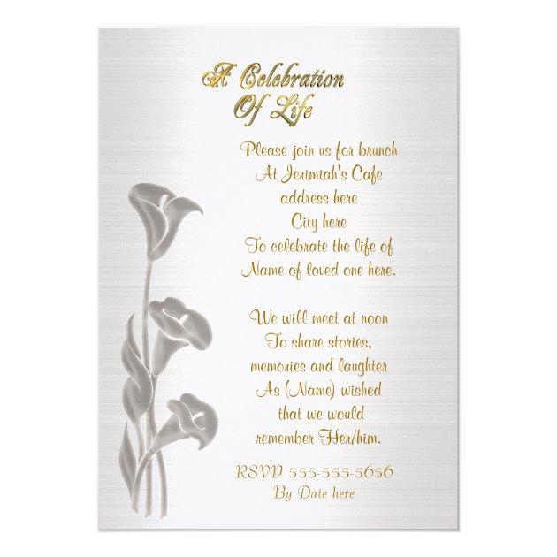 Invitation Of Life for amazing invitation design