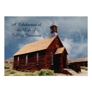 Celebration of Life Invitation Old HistoricChurch