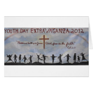 Celebration Of Our Youth Day! Card