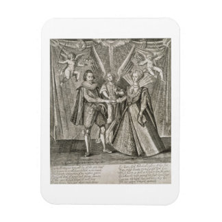 Celebration of the Marriage of James VI and I (156 Magnet