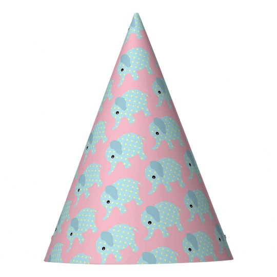 Celebration Party Whimsical Elephant Party Hat