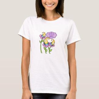 Celebration Positive Thought Doodle Flower T-Shirt