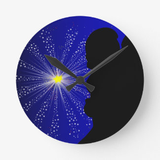 Celebration Silhgouette Kiss Wall Clocks