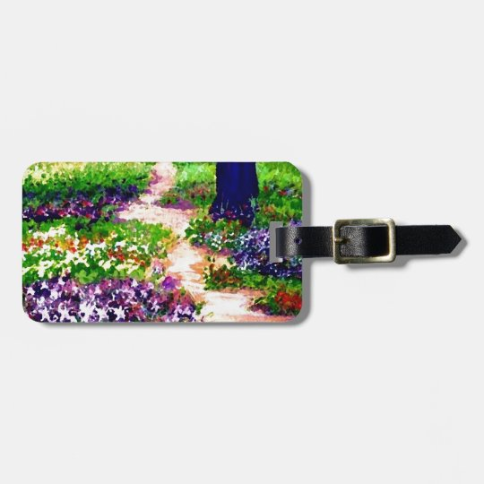 Celebration Sunny Flower Garden CricketDiane Luggage Tag