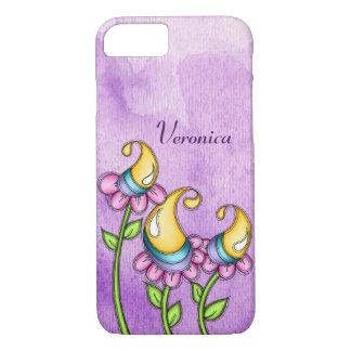 Celebration Watercolor Doodle Flower iPhone 8/7 Case-Mate iPhone Case