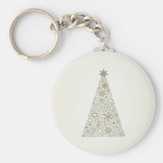 Celebratory tree keychain
