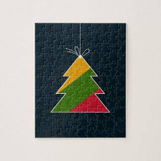 Celebratory tree puzzles