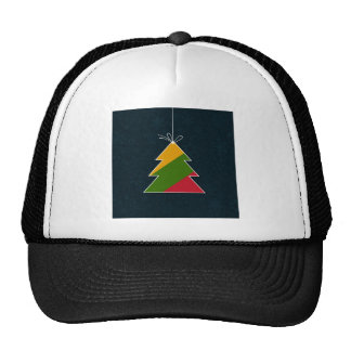 Celebratory tree trucker hat